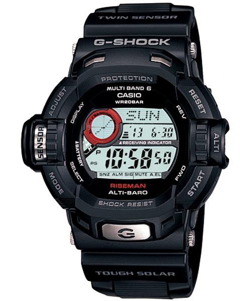 ★G-SHOCK★ GW-9200J-1JF【ライズマン/¥28,350−】